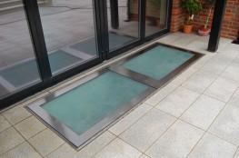 GLAZED WALK-ON FLOOR ACCESS - Surespan Limited