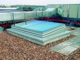 SRHG GLAZED ROOF HATCH - Surespan Limited