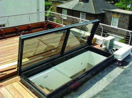 SRHG GLAZED ROOF HATCH image