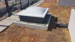 Smoke Vent with Roof Access and Daily Ventilation EN12101-2 - Surespan Limited