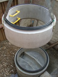 The Stanton Bonna watertight Perfect Manhole System is a precast off-site solution which enables contractors to install a modular water tight manhole without the need for a concrete surround.