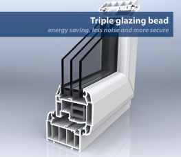 Capable of achieving a a U-value of 0.8 or less 