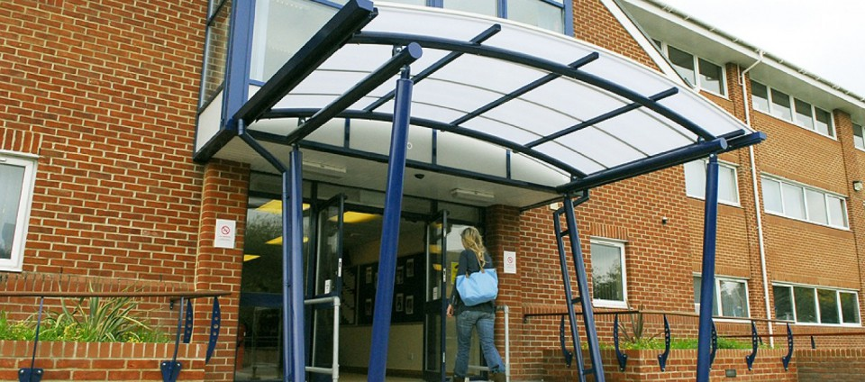 Entrance Canopies Product : Product information for entrance canopies by fordingbridge
