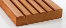 Thermowood Decking image