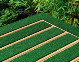 Acommercial landscaping solution that blends the performance oftraditional decking with the aesthetics of real turf.  GrasseDeck PRO is fully DeckMark Plus approved and conforms to the UK Slip Resistance Guidelines, BS 7976 part 2. An ideal solution for schoo...