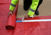 Visqueen Radon Membrane is manufactured from an enhanced blend of polymer films that is suitable for use in the protection of buildings from the ingress of radon gas.