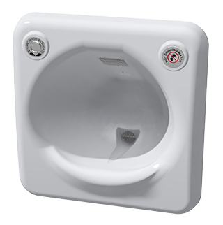 Psh Recessed Hand Wash Dryer By Wallgate