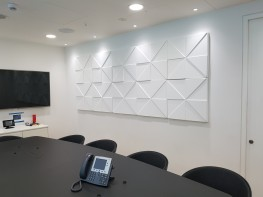 Prism Acoustic Wall Panel - Soundtect Ltd.