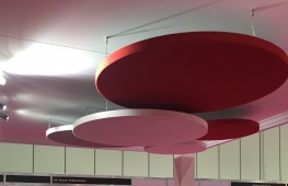 Soundtect Class circles; suspended acoustic solutions for ceilings - Soundtect Ltd.