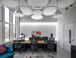 Soundtect Class circles; suspended acoustic solutions for ceilings image
