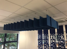 Freestyle Acoustic Felt for Baffles/ rafts/ partitions - Soundtect Ltd.