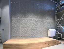 Freestyle Acoustic panel for wall coverings, baffles, rafts and partitions - Soundtect Ltd.