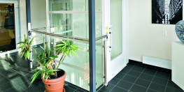 The Aritco 7000 platform lift is designed to fit into any commercial environment, complimenting the design of your project. With 8 different platform sizes available, it is the most versatile Gartec platform lift. The 7000 commercial platform lift offers secur...
