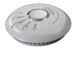 General purpose smoke alarm suitable for use in most rooms in your home 