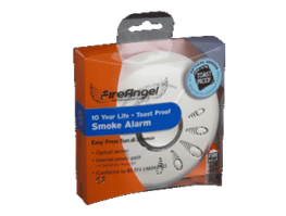 SO-610 - Toast Proof Optical Smoke Alarm (10Yr) - Fire Angel