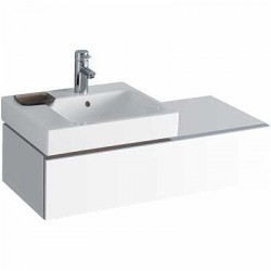 The 3D Range Of Bathroom Furniture In Plum Or Alpine White High Gloss Finish Are Supplied Pre Assembled For Easy Installation. Units Are Internally Segmented For Easier Storage And Come With Soft Closing Drawers As Standard. Available As Left Or Right Hand Vanity Units.