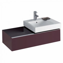 The 3D Range Of Bathroom Furniture In Plum Or Alpine White High Gloss Finish Are Supplied Pre Assembled For Easy Installation. Units Are Internally Segmented For Easier Storage And Come With Soft Closing Drawers As Standard. Available As Left Or Right Hand Van...