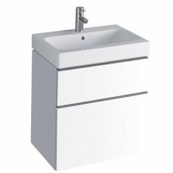 3D 595 Vanity Unit 2 Drawer - Alpine White image