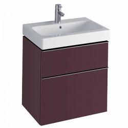 3D 595 Vanity Unit 2 Drawer - Plum image