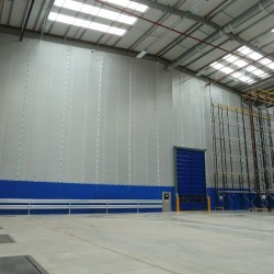 Flexiwall - Factory and warehouse partitioning image