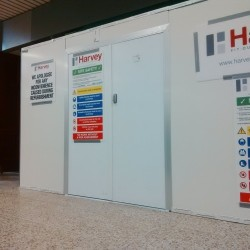 Hoardfast Firescreen - Temporary internal 60-minute fire resistant hoarding - Westgate