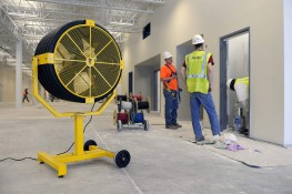 Yellow Jacket® is the Smashingly Durable™ portable and mountable fan that takes abuse and stays in use. The 18- (45.7cm) and 36-inch (91.4cm) pedestals direct airflow where it's needed to keep employees comfortable. Mount it to a column or wall to get air...
