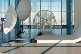 With an 8-ft. (2.4m) diameter and 360-degree angle adjustment capabilities, AirGo® is our biggest, most versatile vertical floor fan. Its compact design and durable construction make it an ideal air movement solution in the toughest of environments. Add the o...