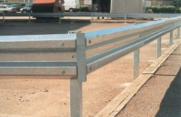 Sectional Steel Barrier image