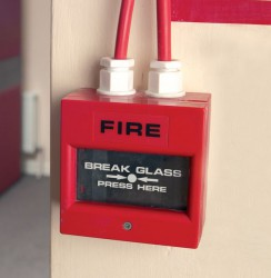 Manual Fire Call Point - Spare Break Glass image