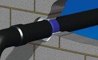 Nullifire FP300 (B300) Intumescent Wrap is a simple to use, self adhesive intumescent pipe wrap. The FP300 fits around the circumference of the pipe within the depth of the substrate. In the event of a fire, it prevents the passage of fire and smoke by closing off the aperture within the compartment floor or wall when penetrated by plastic pipes.