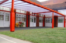 Grange Mono-Pitch Free Standing Canopy - Able Canopies