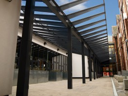Kensington Dual-Pitch Free Standing Canopy - Able Canopies