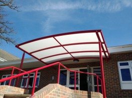 Whiteside Free Standing Canopy image