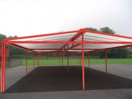 Double Grange Free Standing Canopy - Able Canopies