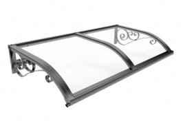 The Earlswood entrance canopy has a delicate curve and stunning decorative wall brackets. It will enhance the entrance of any building, and will fit in seamlessly with traditional buildings and rural settings.