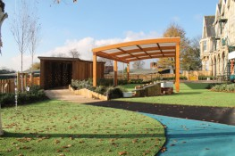 The Tarnhow Curved Free Standing canopy is a classic timber structure that is constructed with a stylish curved roof. With a maximum span of 6 metres and an unlimited length it is suitable for a variety of applications such as a covered walkway and a sheltered...