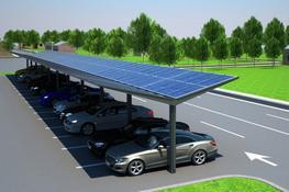Kensington Dual-Pitch Solar Canopy image