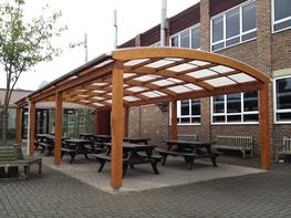 Tarnhow Dome Free Standing Timber Canopy By Able Canopies