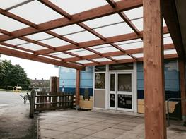 Tarnhow Mono Free Standing Timber Canopy - Able Canopies