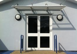 Beck Entrance Canopy - Able Canopies