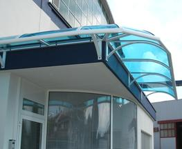 Orwell Entrance Canopy - Able Canopies