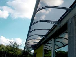 The Abberton Entrance Canopy - Able Canopies