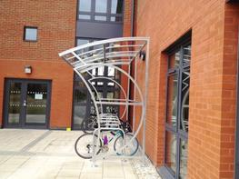 Wall Mounted Witton Cycle Shelter image