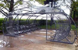 Witton Cycle Compound - Able Canopies