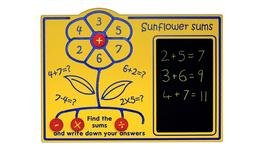 Sunflower Sums Play Panel image