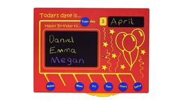 Today's Date Is... Sliding Educational Play Panel image