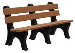 Lakeside Bench With Back image