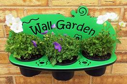 Wall Garden 3-Pot Planter image