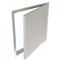 The Premium Range Access Panel provides protected openings in ceilings and walls for access to building engineering services. The door is finished in powder coated white and can be overpainted to blend with the surrounding surface. The larger Premium Range Acc...