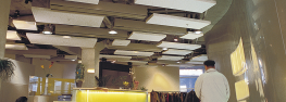 Ceiling baffles image
